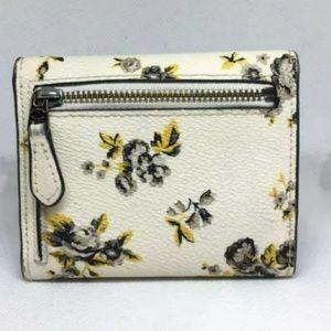 Coach Bags - Authentic Coach Floral Prairie Print Wallet (Rare)